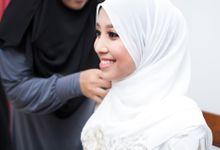 The solemnization ceremony of Alya & Amir by Hanif Fazalul Photography & Cinematography