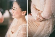 Romantic and Intimate wedding of Gerry and Devina by The Wagyu Story