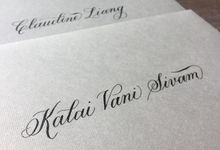 Yvette ••• Calligraphed Envelopes by Lemonpassion Calligraphy