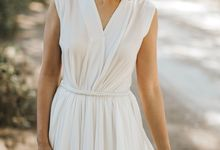 Sisca and Her Simple White Dress by Charlotte Beauty Studio