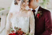 Mack and Joyce Bohemian Luxe Wedding at The Fullerton Bay Hotel by Airin Lee Professional Hair and Make Up
