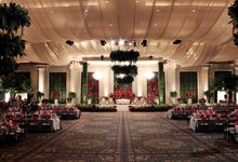 John and Xuan Wei Wedding Reception by Amarillis Floral and Party Decorator