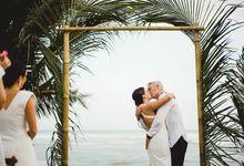 Jeanne & James Bali Wedding by SÁL PHOTO