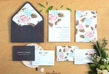 Lintang & Ellino Wedding by Pentone Craft and Paper