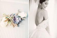Indah & Robin Cultural Bali Wedding by Flying Bride