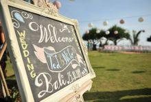 TED & NILO WEDDING by Pondok Pitaya: Hotel, Surfing and Yoga