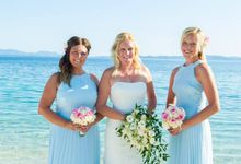 L&J Beach wedding in Lefkada Greece by Lefkas Weddings