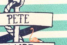 Pete & Claire by Little Paper Lane