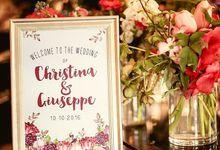 Christina & Giuseppe by Little Paper Lane