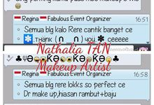 Testimony  by Nathalia TAN Makeup Artist
