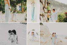 A&T Agios Nikitas beach wedding by Lefkas Weddings