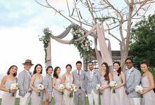 Destination Wedding of Love Bonito co-founder Rachel Lim by The Wedding Concepteur