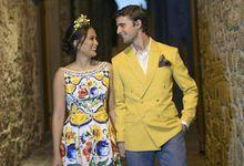 Isabelle Daza & Adrien Semblat by Suit it Up Manila