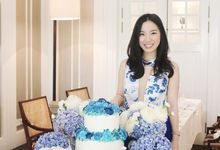 Yuni Blue Birthday Set by Here's To_