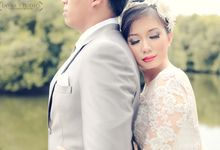 Pre Wedding Elvira & Bhakti by Adie by Javas