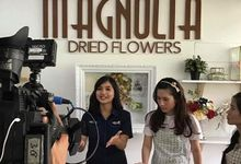 Seputar Indonesia visited our workshop by Magnolia Dried Flower