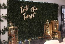 Into the Forest Dessert Project by Concrete Space by Here's To_