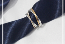 Two Tone Infinity Rings by J's Diamond Jewellery