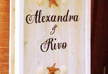 Alexandra and Rivo Wedding by Petunia Decor