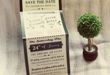 Papeterie invitations by Papeterie Party Designer