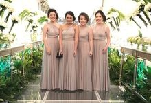 Beige at Frangky Amor Wedding by ARTECOLA
