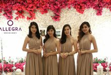 Penerima Angpao at Hotel Borobudur by Allegra Wedding Agency