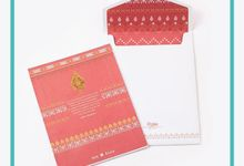 Ade & Rama Wedding Invitation by Hiraloka