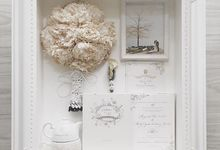 White Glamour by Magnolia Dried Flower