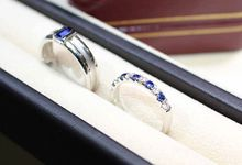 Customised Wedding Bands by GIOIA FINE JEWELLERY