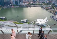Marine Bay Sands Wedding by GrizzyPix Photography