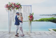 Stacey & Kolona at Bayuh Sabbha by baliVIP Wedding