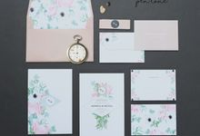 NONICA & NICOLA WEDDING INVITES by Pentone Craft and Paper