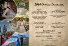 Overseas Pre Wedding Packages 2016 by Acapella Photography