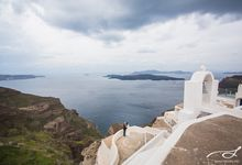 Santorini Wedding: John & Hazel by Stories.my