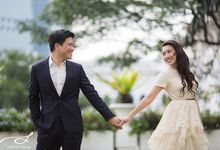 Singapore & KL Pre-Wedding: Andrew & Katrina by Stories.my