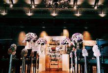 Kinfolk Wedding Ceremony - Jemmie & Yolancy by Sentra Bunga