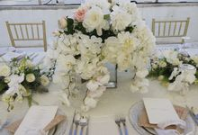 Nick and Meggie Wedding by Bali Bakery Catering Service