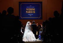 Bertrand and Simin Wedding by Megu Weddings