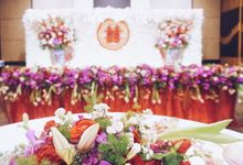 Olive Hotel Karawaci - Sangjit Decoration Rita by Seserahan & Sangjit by Sentra Bunga
