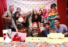 Unlimited 6 Hours Shera Wedding Day by Kece Photobooth