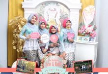 Arie & Radit Wedding Day by Kece Photobooth