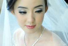the Bride Felicia by Beyond Makeup Indonesia
