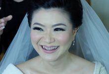 Bridal Makeup for Melinda by Beyond Makeup Indonesia