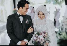 Modern Hijab Wedding by Tiffany Roselin Makeup Artist