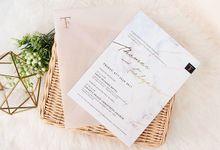 Thomas & Felyana (07.07.17) by Hummingbird Invitation