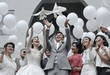 Dion Wiyoko & Fiona Wedding by NOMINA PHOTOGRAPHY