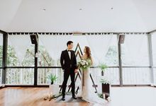 Contemporary Botanic Styled Shoot by Amperian