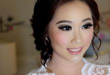 Pretty Bride For Sylvie by Lili Mailidia MakeUp