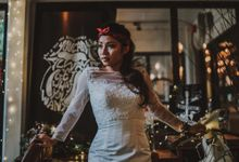 Back to the past - Rock and Roll by Makeup Maestro Weddings