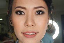 Makeup For Sister Of The Bride by Shellen Makeup Artist
